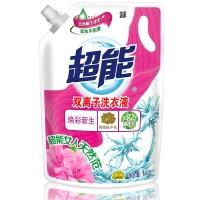 超能 双离子洗衣液(焕彩新生)1kg/袋装(新老包装随机发货)