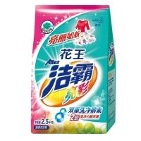 洁霸(ATTACK)亮彩无磷洗衣粉 2.5千克(花王品牌出品)