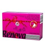瑞诺瓦之爱( Renova) 香氛手帕纸 双拼玫瑰粉/白色 3层9抽*6包 葡萄牙进口