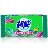 超能 柠檬草透明皂/洗衣皂(清新祛味)260g(新老包装随机发货)