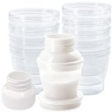 小白熊 母乳储存杯保鲜杯/储奶杯/料理杯 10个装 送转换口09539