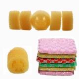 仕可依 QL-1236 仕可依(SKE)超值易净洗碗巾笑脸洗碗棉防丝瓜洗碗棉厨房清洁组合套装