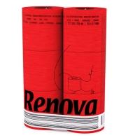 瑞诺瓦之爱( Renova) 檀香卷纸 实用装大运红3层140节*6卷 葡萄牙进口