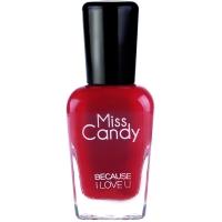 Miss Candy健康指彩指甲油 可剥漆光甲油 笑语亮红正红MC39