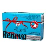 瑞诺瓦之爱( Renova) 香氛手帕纸 双拼蓝莓冰雪蓝/白色 3层9抽*6包 葡萄牙进口