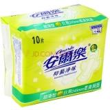 安尔乐 抑菌净味 干爽网面 超薄日用型 卫生巾 245mm*10片
