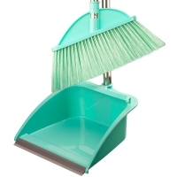美的家 扫把 扫把套装 畚箕 簸箕 扫帚 笤帚 扫把簸箕套装