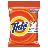 汰渍全效360度洁雅百合香型洗衣粉3.8kg/袋 加酶 无磷 去渍 超浓缩
