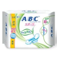 ABC 茶树系列 纤薄 网感 棉柔表层  日用卫生巾 240mm*8片(澳洲茶树精华)