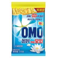 奥妙(OMO)洗衣粉 净蓝全效水清莲香3000g
