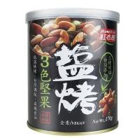 台湾红布朗盐烤三色坚果,170g