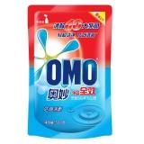 奥妙(OMO)洗衣液 净蓝全效深层洁净500g