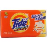 汰渍全效三重功效洗衣皂238g*2 手洗专用 肥皂 去渍 易漂洗
