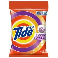 汰渍洁净薰香薰衣草香氛洗衣粉3kg/袋 加酶 无磷 超浓缩