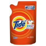 汰渍全效360度洁雅百合香型洗衣液500g/袋 柔顺 护色 去渍 含净漂因子