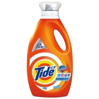 汰渍全效洁净舒肤佳型洗衣液2kg/瓶 洁净除菌 去渍