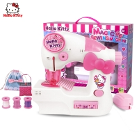 HELLO KITTY小能手-迷你缝纫机,KT-8502