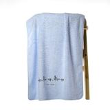 金号 毛巾家纺 赤金提螺素绣浴巾2385H一条装 颜色随机