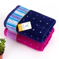 金号提缎割毛巾S1057两条装