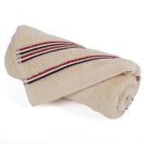 金号毛巾家纺GA1067纯棉吸水面巾棕色