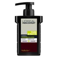 欧莱雅(LOREAL)男士控油调理液体洁面皂 150ml(男士洗面奶 洁面膏 不干燥不紧绷)