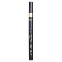 欧莱雅(LOREAL)美眸深邃极细眼线水笔 0.5g 黑色(欧莱雅彩妆 精致纤细妆效)