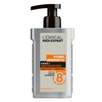 欧莱雅(LOREAL)男士劲能舒润液体洁面皂 150ml(洁面膏 洗面奶 改善黯沉 温和滋润)