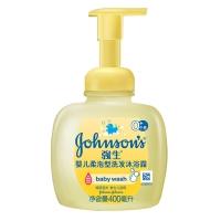 强生(Johnson) 婴儿无泪配方洗发沐浴露400ml(柔泡型)新老包装随机发货