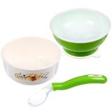 日康 餐具用品三件套2(颜色随机)(RK-3800+RK-3716+RK-3713)