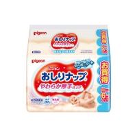【日本原装进口】贝亲(Pigeon)清爽湿巾 湿纸巾 80片×6P(补充装)