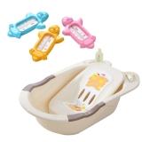 日康婴儿浴盆婴儿水温计套装(RK-3626+RK-3740)(颜色随机)