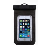 加加林JAJALIN手机防水袋 游泳防水包  潜水套防水手机套 加大款黑色 适合5.0-5.8英寸手机