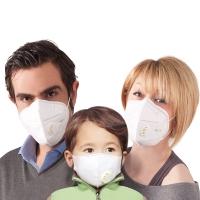 捷昇口罩 防颗粒物呼吸器 有呼气阀 两只装