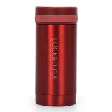 乐扣乐扣(locklock)不锈钢纤巧便携保温杯茶水杯车载商务杯子LHC550(200ml)红色