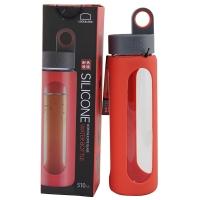 乐扣乐扣(locklock)耐热玻璃水杯-I型(510ml)LLG933R橘黄色