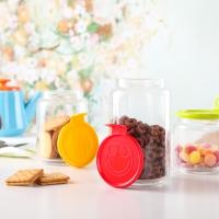 乐美雅(Luminarc)玻璃储物罐套装圆舞曲笑脸罐三件套 J4016