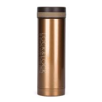 乐扣乐扣(locklock)不锈钢纤巧保温杯 LHC563(300ml)棕色