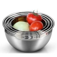 铂帝斯 魔术调料盆4件套 304不锈钢菜盆大容量淘米沙拉味斗盆