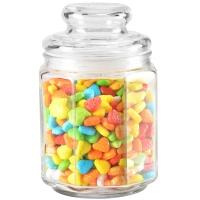 紫丁香 750ML玻璃防潮储物罐厨房密封罐SG7275