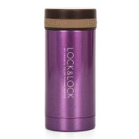 乐扣乐扣(locklock)不锈钢纤巧保温杯 LHC554(200ml)紫色