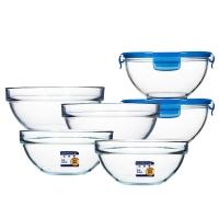 乐美雅 Luminarc 钢化玻璃保鲜碗饭盒 6件套