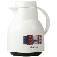 特美刻(TOMIC)进口保温壶 家用保温瓶热水瓶保温水壶玻璃内胆暖壶 KJ200 白色 1L