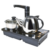 常生源 电磁炉 UBS-01黑色 多功能自动上水泡茶炉烧水壶消毒锅功夫茶具配件