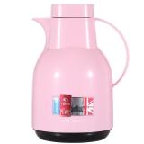 特美刻(TOMIC)进口保温壶 家用保温瓶热水瓶保温水壶玻璃内胆暖壶 KJ206 粉色 1.5L