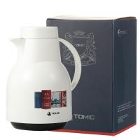 特美刻(TOMIC)进口保温壶 家用保温瓶热水瓶保温水壶玻璃内胆暖壶 KJ206 白色 1.5L