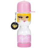 乐扣乐扣(locklock)国家娃娃水杯HLC671HG'HiphopGirl'摇滚女孩(430ml)