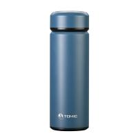特美刻(TOMIC)保温杯 3D商务不锈钢真空水杯1BBS1105 430ML 湖蓝色