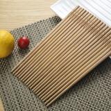 佳佰 竹筷 家用无漆无蜡碳化筷子不易发霉 厨房中式餐具套装10双装DK1006