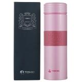 特美刻(TOMIC)保温杯 男316不锈钢水杯子泡茶杯 1BBS1256粉色