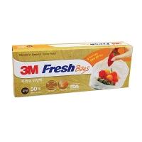 3M 进口系列 保鲜袋 食品保鲜袋大号(25cm*35cm*50只)